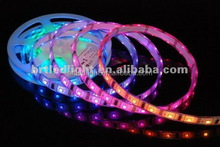 NEW 10m Mixed Color RGB SMD5050 60leds/m Glue waterproof IP65 remote control horse race LED strip light
