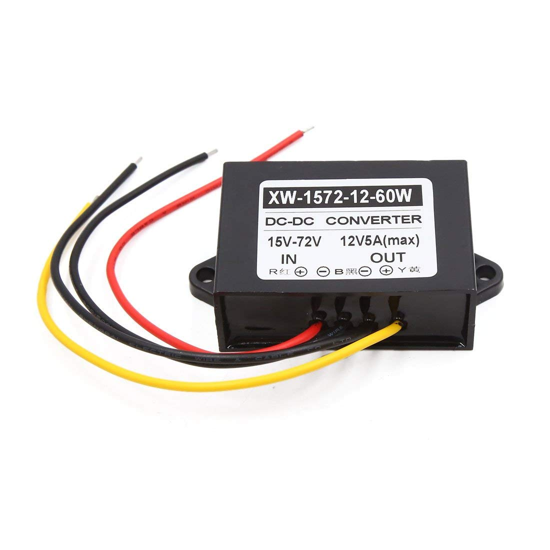 Cheap 15v Power Supply Schematic Find Dc Voltage Free Download Wiring Diagram Get Quotations Uxcell 15 72v To 12v 5a Car Inverter Transformer Converter