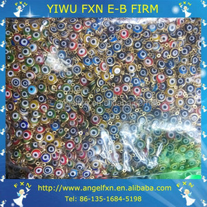 Factory directly fashion lampwork evil eye glass beads wholesale