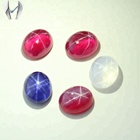 Gemstone Type And Sapphire Material Blue Star Sapphire