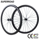 38mm CX Offset Disc Brake Cycling Fiber Clincher 700C Chinese Road Carbon Wheelset Bike Bicycle Wheel set