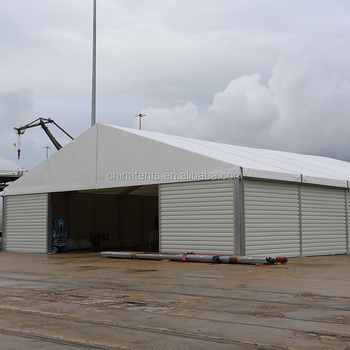 Customized Large Industrial Winter Cold Weather Tents With Sandwich Panels Hard Walls for Storage & Customized Large Industrial Winter Cold Weather Tents With ...