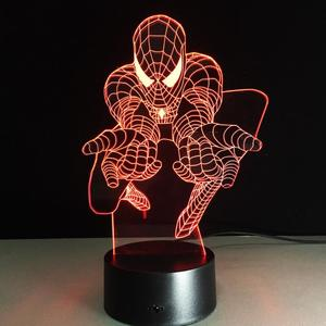 The Avengers lamps small fast selling items art led night lights,earth 3d illusion lamps,3d christmas decoration light