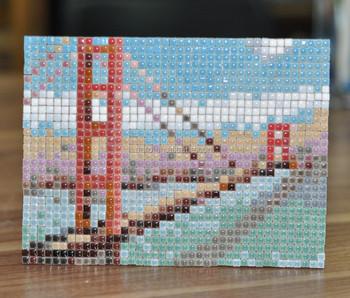 Table Decoration Golden Gate Bridge Diy Mosaic Craft Set Buy
