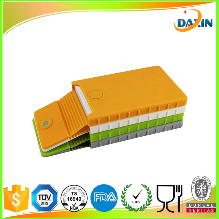 Wholesale cheap price silicone card case/office supplies