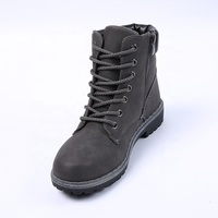 Fashion dr martins canadian snow men half winter boot manufacturer in wenzhou