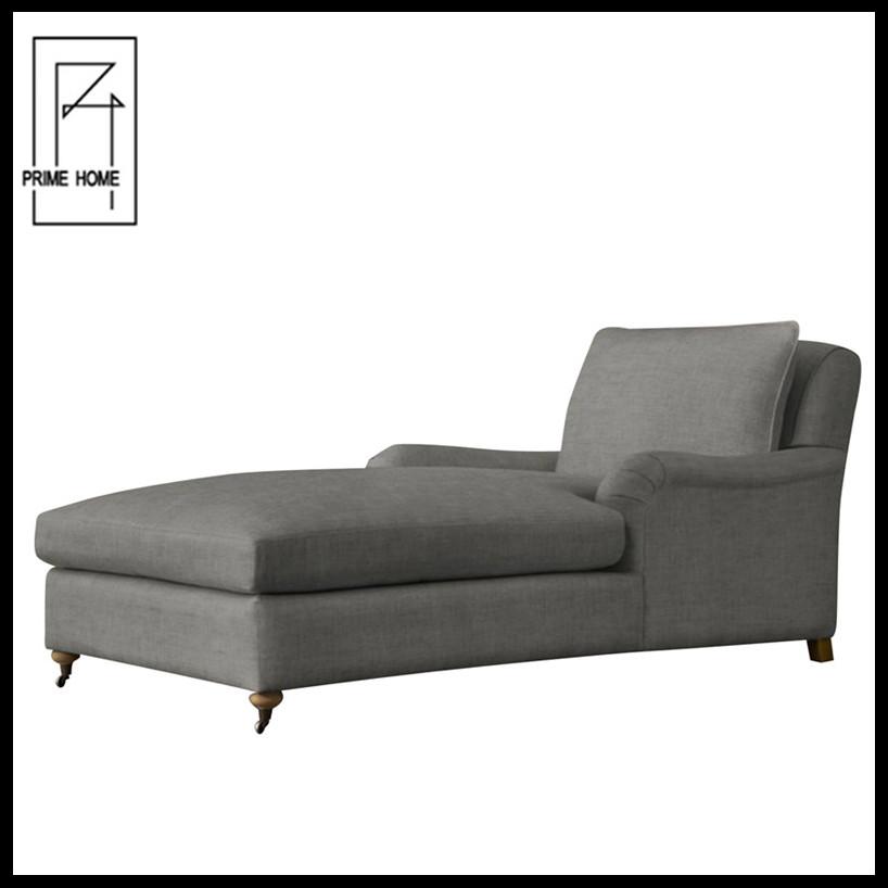 Gris oscuro tela diván para hotel-sillas antiguas-Identificación del ...
