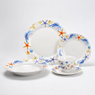 Salable 20pcs Ceramic Dinnerware Set With Beautiful Design,Fancy Home Gift&Craft,High Quality Porcelain Dinner Set