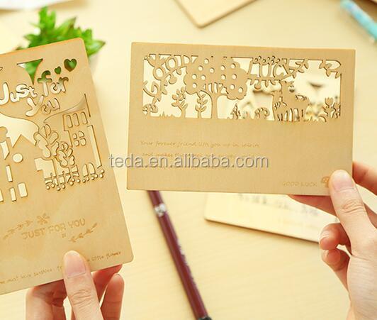Vistaprint Braun Unfinished Holz Standard Visitenkarten