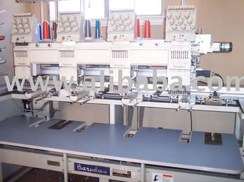 Used embroidery machines for sale: Tajima, Barudan, SWF, Toyota, etc