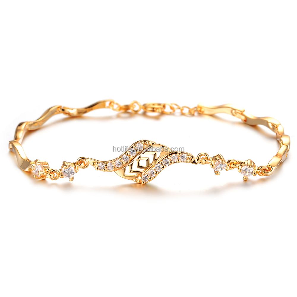 2016 Baru Jam Gelang Wanita Perhiasan Emas Update Daftar Tiaria Fluttering Butterfly Bracelet Berlian Terbaik Jual Hadiah Fashion 18 K Dengan Cubic Zircon