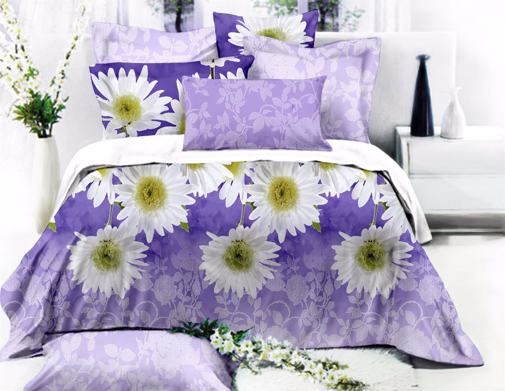 Wholesale High Quality 100%Polyester Fitted Sheet Bedding Set