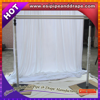 Hot sale!!! wholesale pipe and drape ,pipe and drape kits, backdrop pipe and drape for wedding