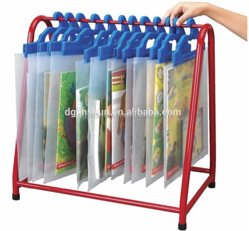Ldpe Plastic Hanging Hook Bags For Ng Books