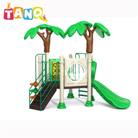 kids amusement park facilities funny children outdoor playground colorful slide toy equipment