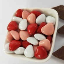 Sweet heart chocolate candy