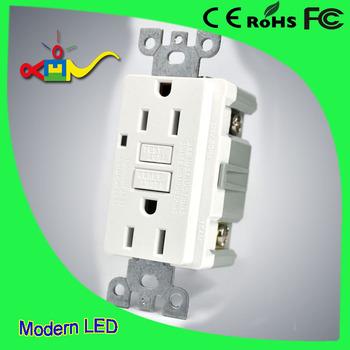 Ground Fault Circuit Interrupter Gfci Socket 220 V Wadah
