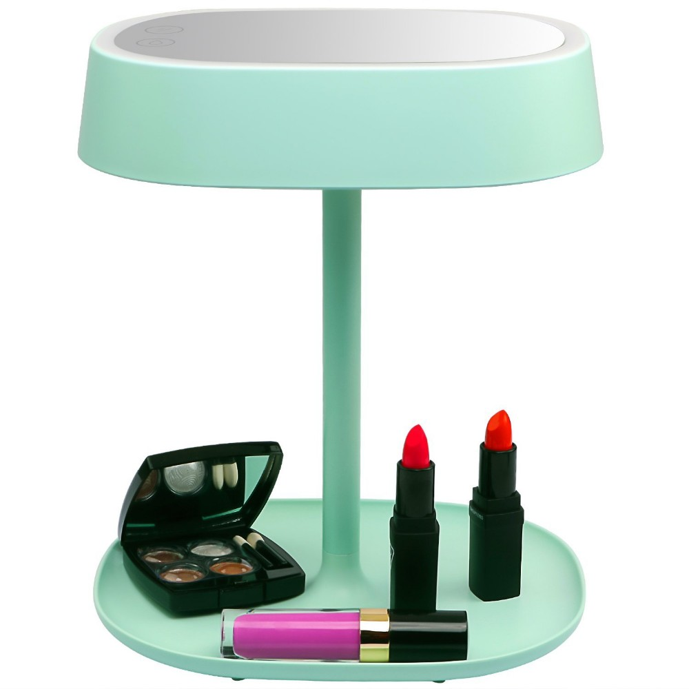 2016 Top Quality Led Lighted Vanity/led Makeup Desktop Mirror - Buy Led Makeup Desktop Mirror ...