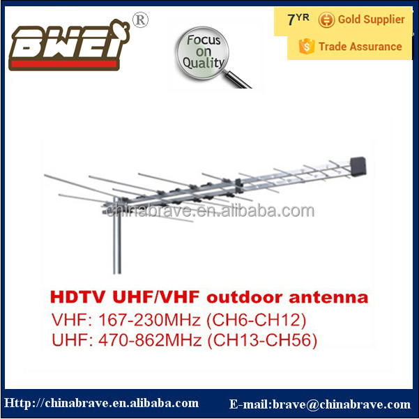 TV antenna 32 Element Log Periodic Outdoor UHF VHF FM HDTV Digital Aerial