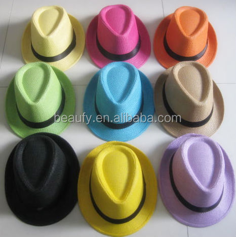 gros pas cher chapeau de paille panama chapeau chapeaux de. Black Bedroom Furniture Sets. Home Design Ideas