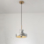 Nordic Modern Home Decoration Single Head E27 Resin Material Marble Suspension Light Pendant Lamp