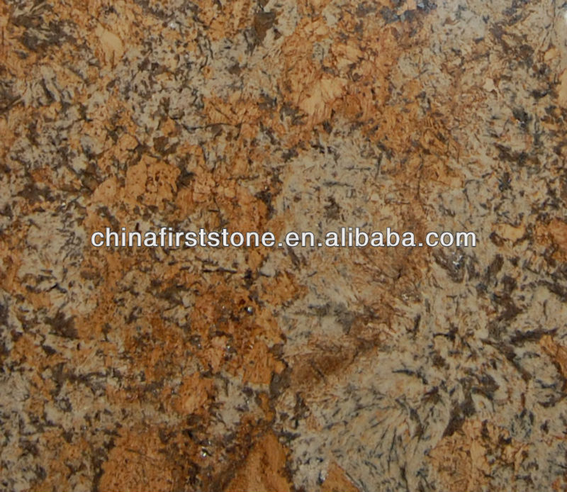 Golden Chocolate Granite Slab