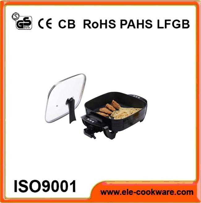 Electric high quality frying pan parts