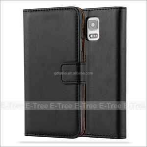 Wholesale Folio Foldable Leather Wallet Phone Case For Samsung Galaxy S5