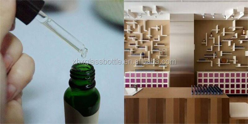 Wholesale Custom 5Ml 15Ml 30Ml Empty Amber Glass Essential Oil Bottle