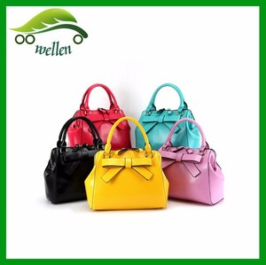 New arrivals china wholesale bowknot appliqued women's bag