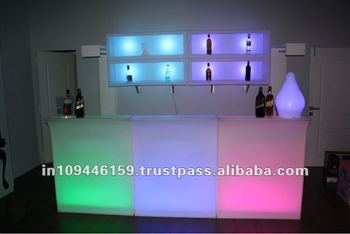 Led Bar Counters Table