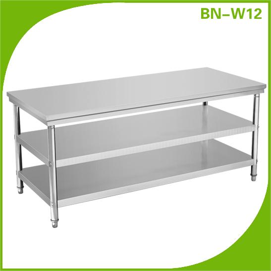 cocina de alta calidad de acero inoxidable mesa de trabajo-Otros ...