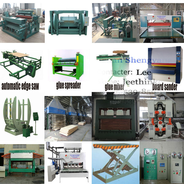 plywood production line including hot press, cold press,plywood cutting macine for sale
