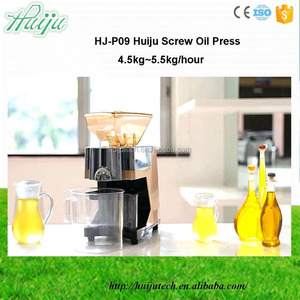 4.5-5.5kg/hour automatic rapeseed oil extraction machine HJ-P09