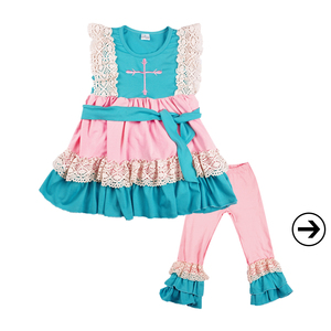 baby girl boutique clothes fall clothing sets wholesale kids clothes