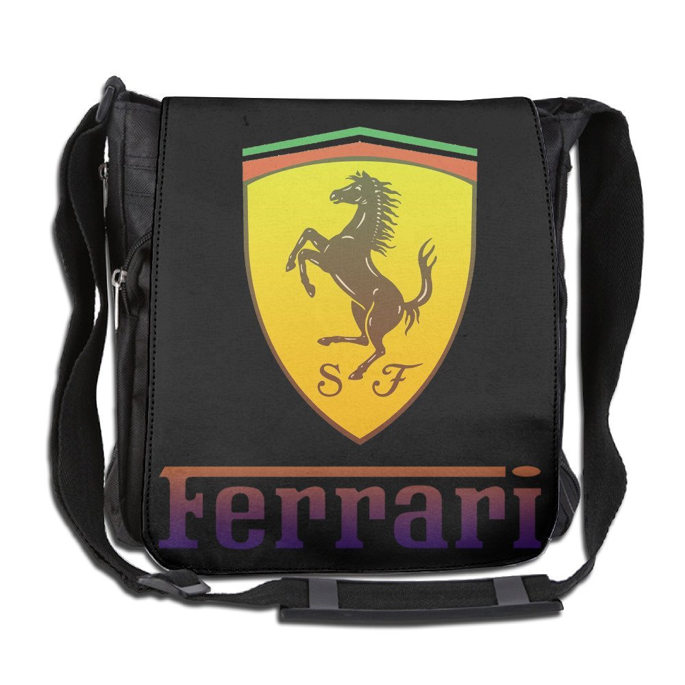 Get Quotations · Ferrari Logo Classic Shoulder Bag Cross Body fe65ac49a4beb