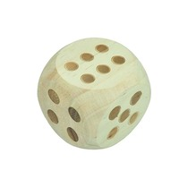 Kids garden game wooden dice for sale