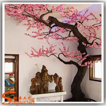 Cereza artificial rbol interior exterior falso ramas de - Arboles decoracion interior ...