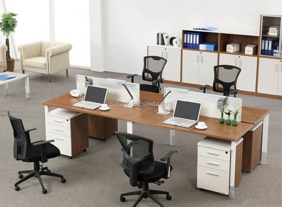 Office Workstation Desk Parion With 4 Seats Sz Wst621 View Sun Gold Product Details From Foshan Furniture Co