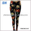 2014 Colorful printed fashion ladies leggings flower leggings