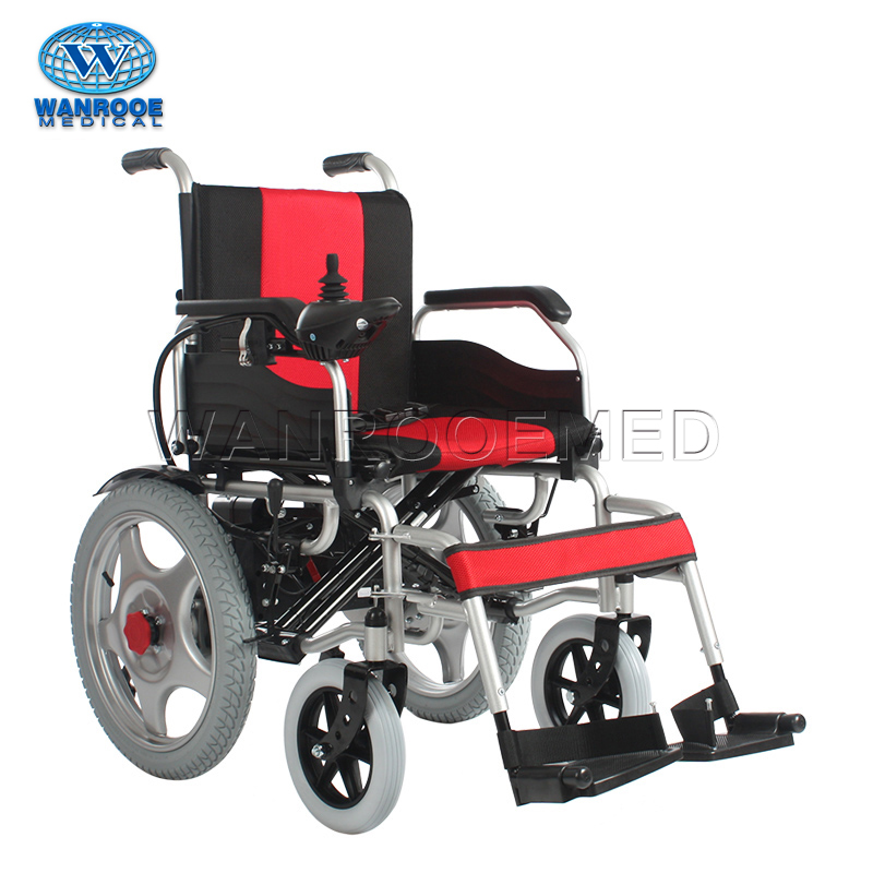 BWHE1801 Steel Frame Electric Wheelchair For Elderly