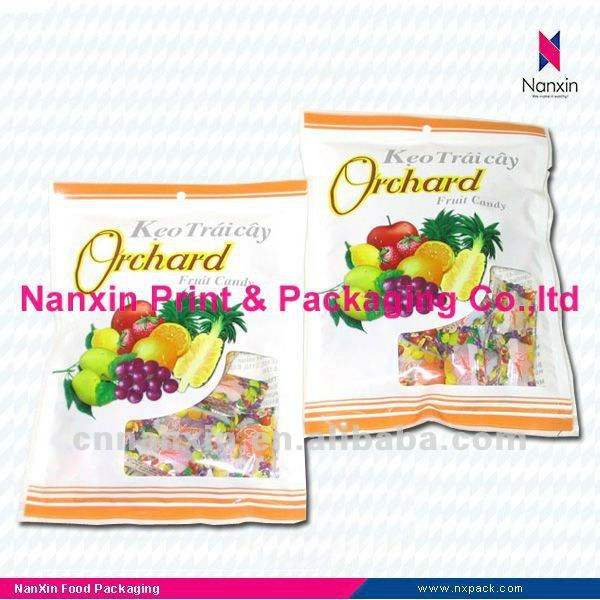 candy bag OPP/PET/CPP laminated plastic bag