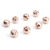 Fashion Rose Gold Metal Bead Jewelry Accessory