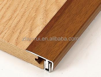 Aluminum Stair Nosing For Vinyl Floor/concrete Stair Aluminum Treads/bamboo  Flooring Stair Nosing