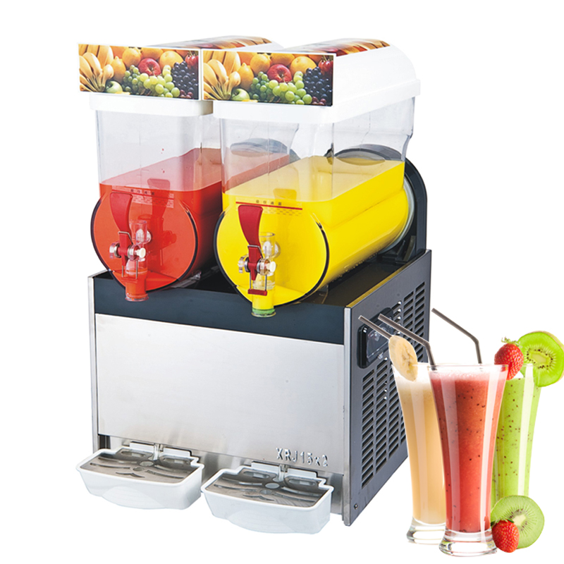 Shanghai factory 2 Bowl Frozen Drink Margarita Slush Machine
