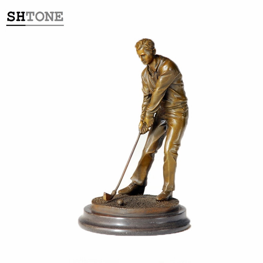 Bronze Golf Statue, Bronze Golf Statue Suppliers And Manufacturers At  Alibaba.com