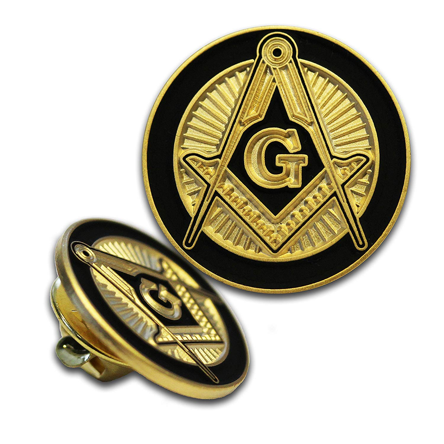 a2e2838241dd Get Quotations · Freemason Lapel Pin Freemason Lapel Pin. 7.79. The Square  and Compasses is the most recognizable symbol in Freemasonry ...