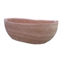 Hot Sale Natural Stone Freestanding Bathtub Carving