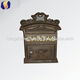Handmade Cast Iron Wall Hanging Letter Post Box