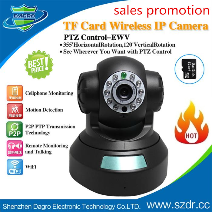 $26.5=low cost wifi ip camera-from Manufacturer Dagro,network camera,plug and play ip camera